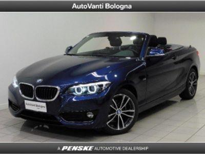 usata BMW 218 d Cabrio Sport