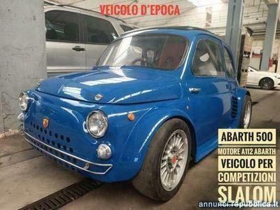 usata Fiat 500 Abarth Competizioni slalom