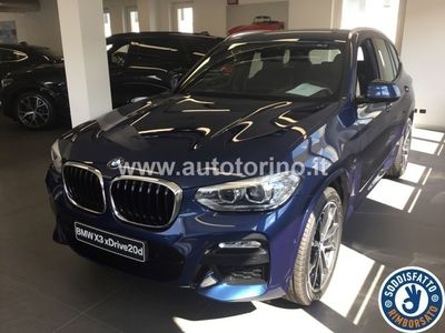 brugt BMW X3 X3XDRIVE20D M SPORT