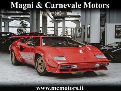 usata Lamborghini Countach 5000 qv|quattrovalvole carburatori|for collectors