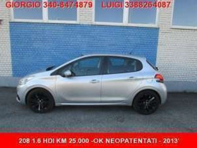 usata Peugeot 208 BlueHDi 75 5 porte Allure
