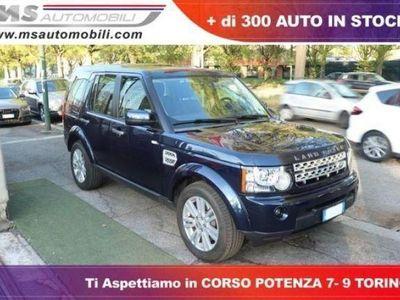 käytetty Land Rover Discovery 4 3.0 TDV6 211CV S Unicoproprietario 7 POSTI Gancio Traino