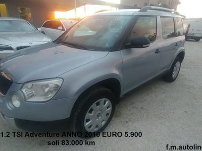 used Skoda Yeti 1.2 TSI Adventure ANNO 2010