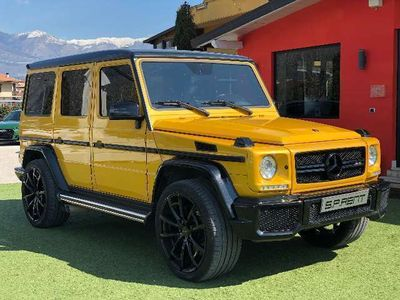 usata Mercedes G63 AMG AMG ALL MANSORY R23/RADAR/HARMAN KARDON/TV POSTERIORI