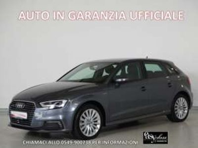 "usata Audi A3 e-tron spb 1.4 tfsi s-tronic sport led 17"" elettrica/benzina"