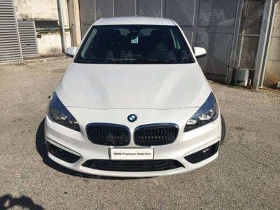 usata BMW 218 Serie 2 Active Tourer d Advantage del 2017 usata a Teverola