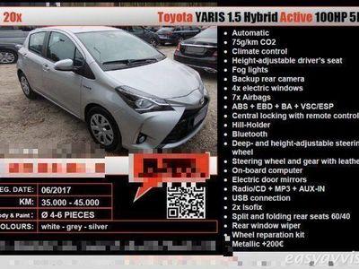 usata Toyota Yaris Hybrid active 1.5 cv100 elettrica/benzina