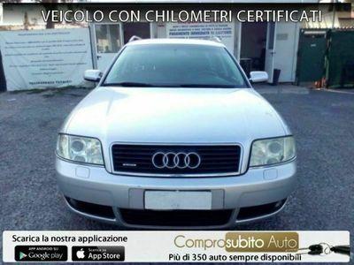 usata Audi A6 A6 2ª serie2.5 V6 TDI/180CV cat Avant qu. tiptronic