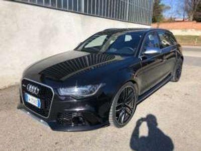 "usata Audi RS6 4.0 tfsi quattro 21"" camera key less full iva esp. benzina"