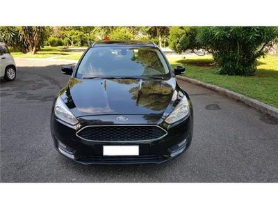second-hand Ford Focus sw titanium navy touch bluetooth