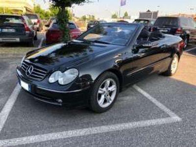 usata Mercedes CLK320 218 cv cabrio avantgarde tagliandi mercedes benzina