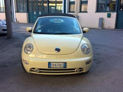 usata VW Beetle NewCABRIO PERFETTO DI CARROZZERIA E MOTORE - GARANZIA