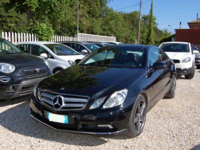 used Mercedes E350 CDI 4Matic coupè (230 CV)
