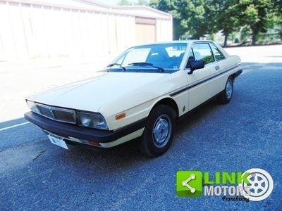 usata Lancia Gamma 2.0 Coupe' II serie, anno 1983, perfettamente conservata, Targa Oro ASI