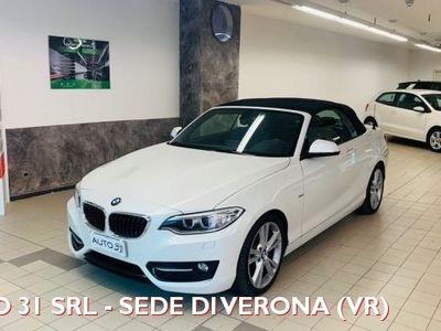 usata BMW 220 d Cabrio Sport