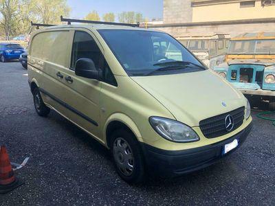gebraucht Mercedes Vito 2.2 111 CDI PC-SL-TA Furgone Long
