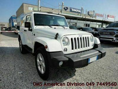 usata Jeep Wrangler 2.8 CRD DPF Sahara Auto Albignasego