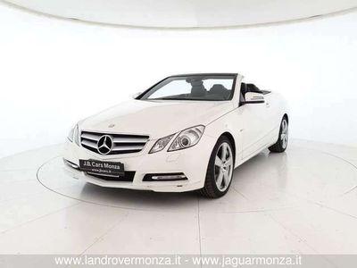 usata Mercedes E220 Classe ECDI Cabrio BlueEFFICIENCY