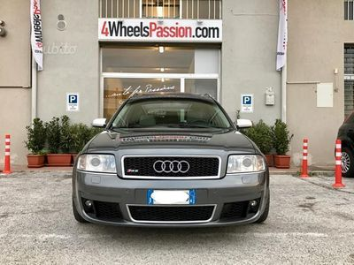 brugt Audi RS6 Biturbo 2002 iva esposta