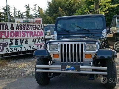usata Jeep Wrangler Laredo YJ 4.2 1988 GANCIO TRAINO ASI