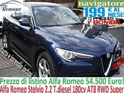 gebraucht Alfa Romeo Stelvio 2.2 T.diesel 180cv AT8 RWD Super#Garanzia Uff. 06/2019#