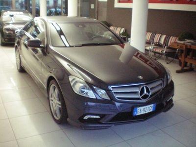 usata Mercedes E350 CGI Coupé BlueEFFICIENCY Executive AMG