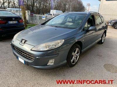 usata Peugeot 407 2.0 HDi 136 CV SW AUTOMATICA