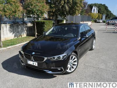 usata BMW 420 Serie 4 Gran Coupé d Luxury del 2019 usata a Terni