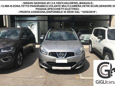 used Nissan Qashqai N-TEC 2.0dCi 150CV 4WD/TETTO PANO/CAMERA/CLIMA/NAV
