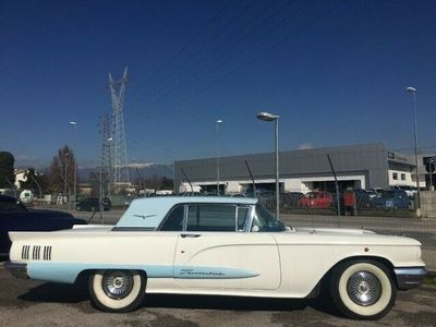 usata Ford Thunderbird anno 1960 gia' targata by gandin motors benzina