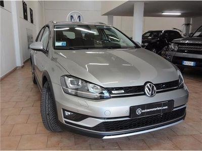 usata VW Golf Alltrack Tdi 184cv 4motion Dsg Garanzia Vw Usato