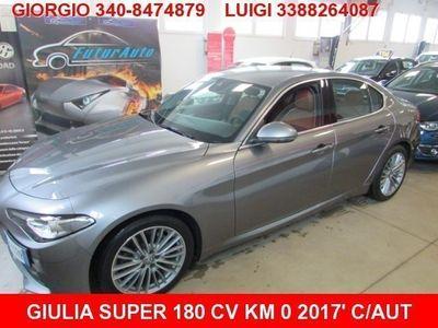 gebraucht Alfa Romeo Giulia 2.2 Turbodiesel 180 CV AT8 Super nuovo