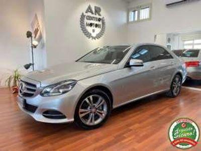 usata Mercedes E220 BlueTEC 7G-Tronic Sport Navy Dvd Full Opt Diesel