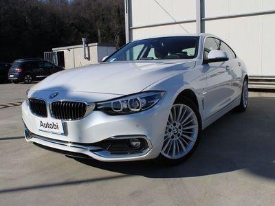 usata BMW 420 Serie 4 Gran Coupé d Luxury del 2018 usata a Genova
