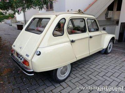 usata Citroën Dyane asi+crs targhe-doc.originali benzina