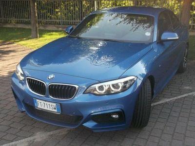usata BMW 218 d Coupé Msport