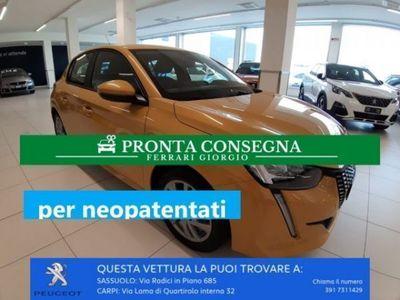 usata Peugeot 208 PureTech 75 S&S 5 porte Active (Neo Patentati)