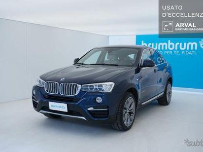 usata BMW X4 xdrive xline 190cv