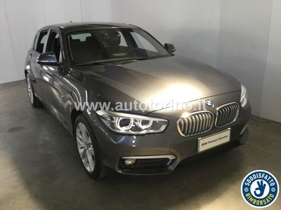 second-hand BMW 116 SERIE 1 (5 PORTE) D 5 PORTE URBAN