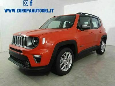 usata Jeep Renegade 1.3 T4 DDCT Limited + tetto nero