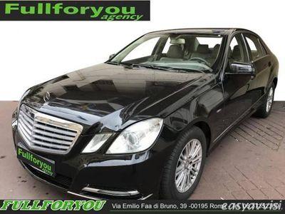 usata Mercedes E220 CDI BlueEFFICIENCY Elegance