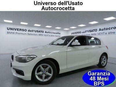 usata BMW 118 d 5 Porte Advantage EURO 6