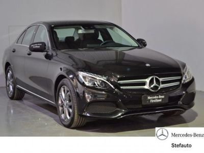 brugt Mercedes C200 d Automatic Sport