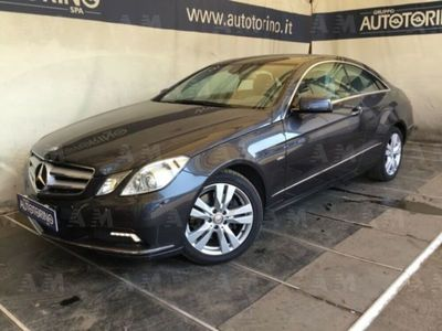 usado Mercedes E250 CDI Coupé BlueEFFICIENCY Avantgarde