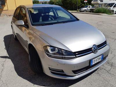 usata VW Golf 7ª-2,0 TDI-DSG-PELLE-TAGLIAN-VOLKS