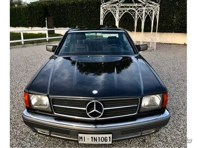 second-hand Mercedes 420 coupe' stupenda 1988