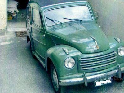 usata Fiat Belvedere 500 C- Anni 50