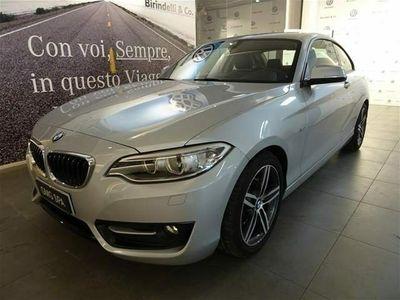 usata BMW 220 d Coupé Sport