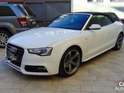 usata Audi A5 Cabriolet 2.0 TDI 177 CV Advanced S-Line Diesel