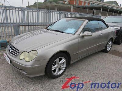usata Mercedes CLK200 cabrio komp. Elegance CAPOTTE NON FUNZ.